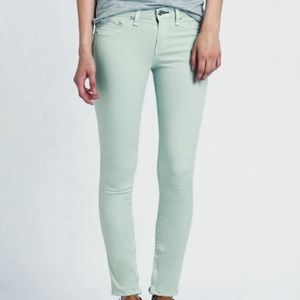Free People Mint Low Rise